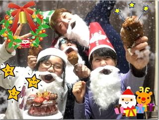 熱意家からメリークリスマ〜ス*:・゚`☆