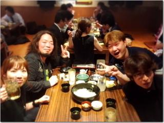 久々の博多でネット仲間と飲み会〜☆