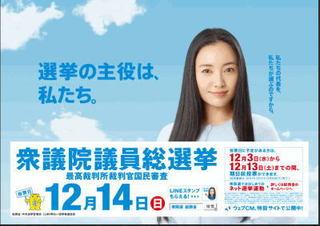 第47回!衆議院議員総選挙投票アンケート☆