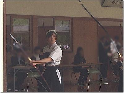 長女さくらんぼ(高3)が弓道で県大会へ出場!!引退か九州大会か!?その雄姿に上げパパ感動〜(涙)
