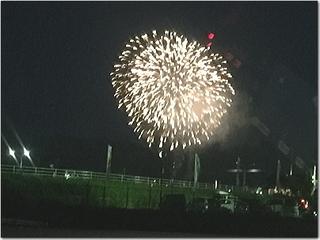 日曜日は直方市の花火大会にGO〜☆