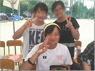 さくらんぼの高校の体育祭!無事終了〜☆