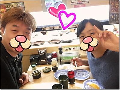 お寿司デート☆長女さくらんぼと♪でも上げ郎はお寿司より●●●がお好き!?