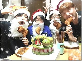 熱意家から1日遅れのメリークリスマス〜☆宇治抹茶ケーキと最後のサンタプレゼント〜♪
