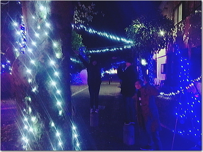 第6回まちなかイルミネーション大作戦☆見て来ました〜♪in飯塚市緑道公園