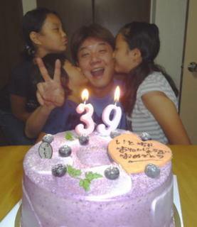 上げ郎、39歳の誕生日!!
