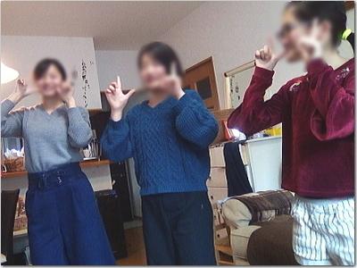 秘密のダンス特訓激写!!来月の新年研修会はめっちゃ盛り上がりまっせ—☆