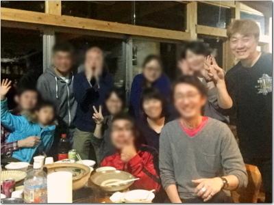 中学プチ同窓会2019☆鍋パーティーで上げ郎ハメを外す(笑)飲みまくり食べまくりしゃべりまくりの最長9時間の集会だと!?w