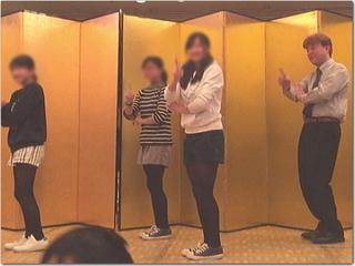 熱意家!恋ダンスを披露☆上げ郎はビンゴゲームの司会も!in飯塚市母子寡婦福祉会の新年研修会♪
