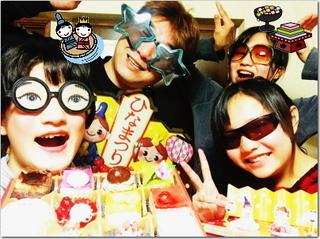 熱意家の雛祭り大盛り上がりぃ〜☆\(*´∇`*)/
