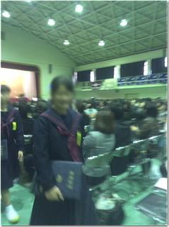 次女あかねちんの中学校卒業式&お誕生日〜♪ で、まさかの・・・www