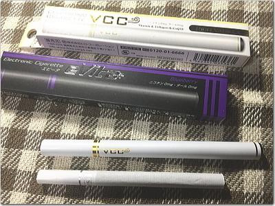 フレーバー系電子タバコ「エレクトロニックシガレット」バニラとブルーベリー試してみました♪