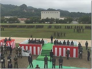 陸上自衛隊飯塚駐屯地創立50周年記念行事に行って来ましたー☆