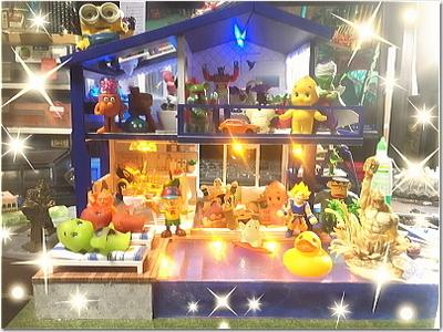 ミニチュアドールハウス作りに挑戦!!超素敵な「マジック ハウス」!上げ郎のコロナ禍での外出自粛中の過ごし方パート2☆