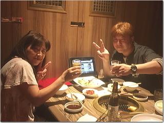 4年ぶりの再会☆熊本のお友達と焼肉食べながらビジネス談議〜☆