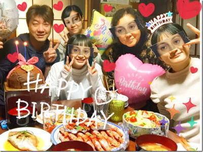 我が家の長女さくらんぼ遂に20歳のお誕生日〜☆豪華なばーばメシも炸裂w上げ郎のケーキも!おめでとー♪