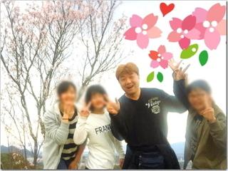 飯塚市大将陣公園の桜まつり2017へ☆桜はどうや?最高の親バカでごめんなさい(笑)