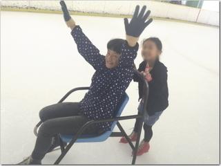 母子会のスケート交流会ー☆