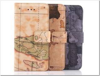 地図柄の手帳型のスマホケース買っちゃった♪
